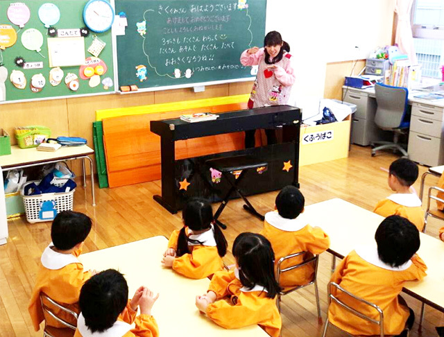 【年間休日110日】幼稚園教諭(正規職員)(パート)求人/実務未経験の方も歓迎いたします!!