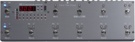 Free The Tone   ARC-3 Silver