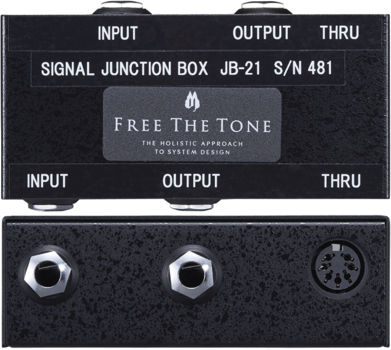 Free The Tone  JB-21  JUNCTION BOX SERIES  (SIGNAL JUNCTION BOX)