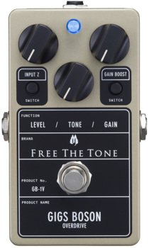 Free The Tone   GIGS BOSON GB-1V  (OVERDRIVE)